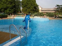 Vodní chrlič Delfín